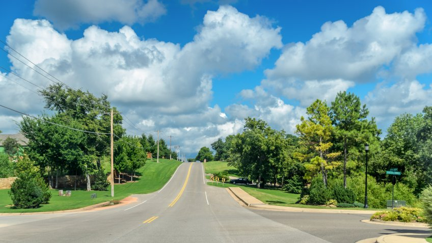 A Placid Summer's Day in Edmond, Oklahoma - Image.