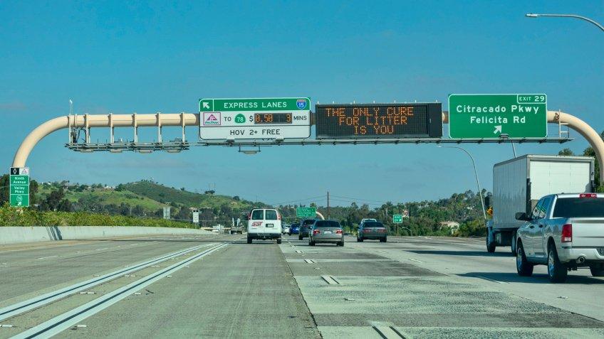 Express Lanes in California