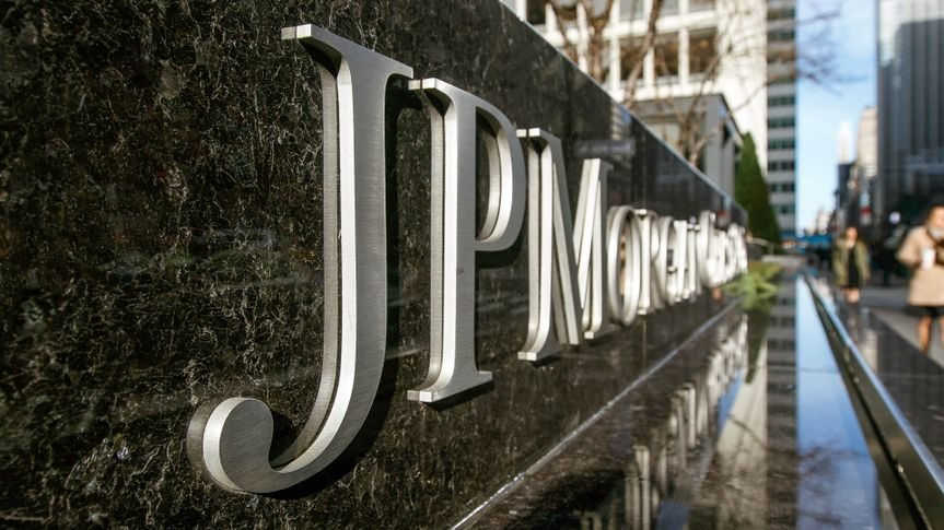 JP Morgan Chase Bank in Manhattan New York