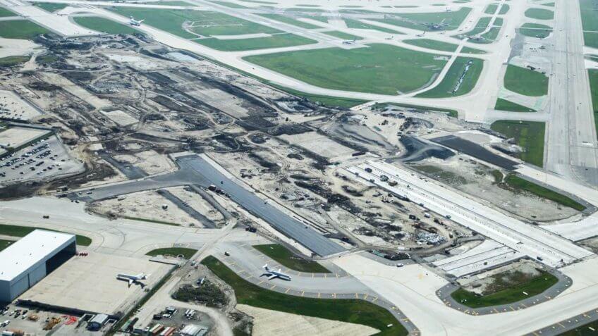 O'Hare Airport Modernization runway space