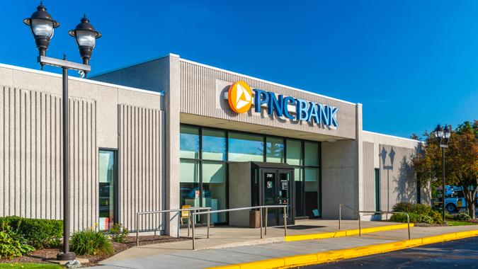 A PNC Bank branch in Rochester Hills, Michigan.