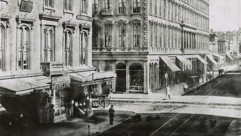 San Francisco Montgomery Street 1866