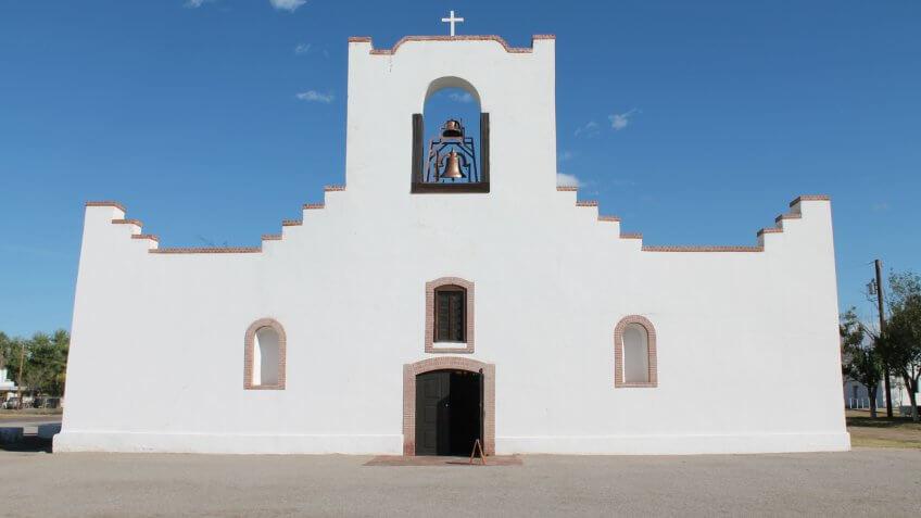 Socorro Mission in Socorro, Texas