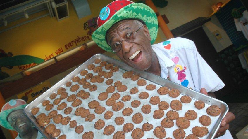Wally Amos cookies