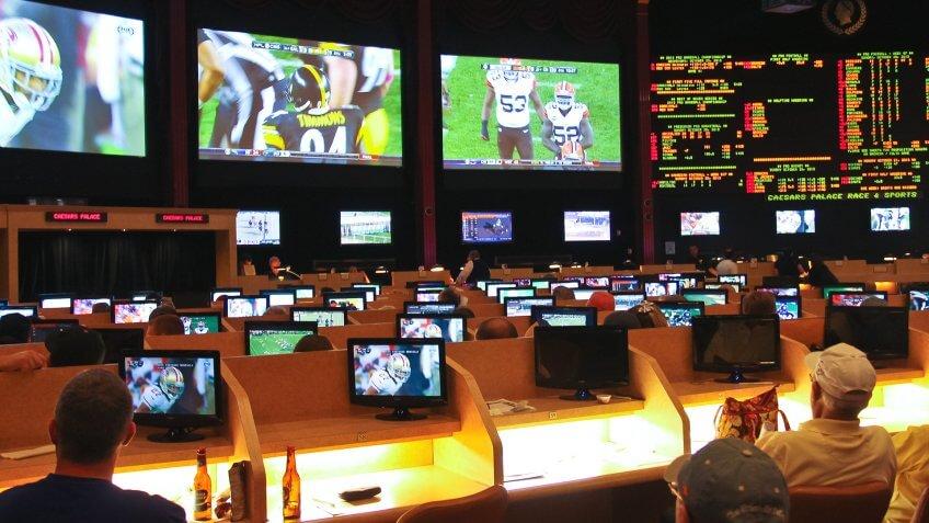 people sports gambling in Las Vegas Nevada