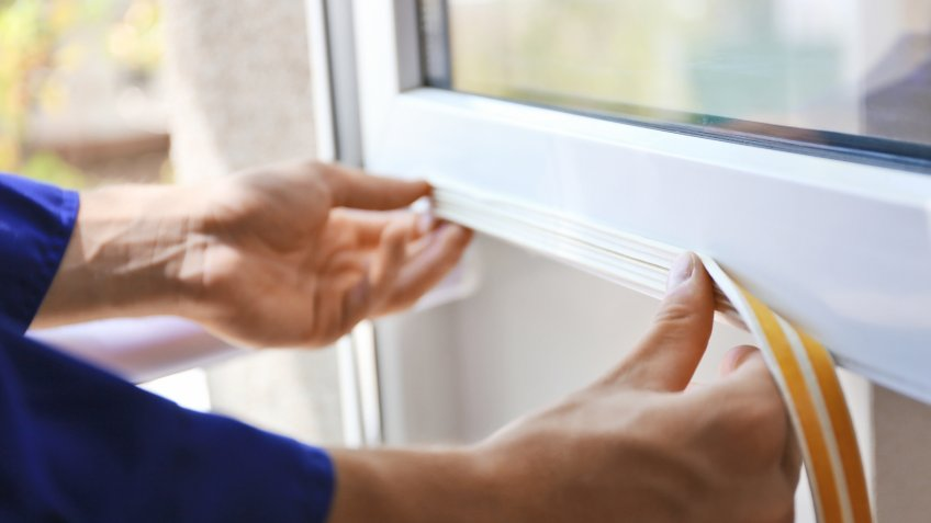 sealing the window