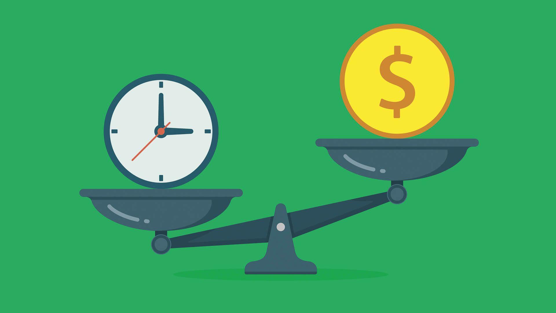 time versus money scale investing