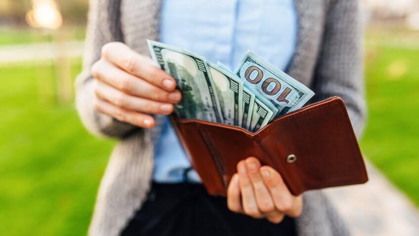 Money in your wallet.