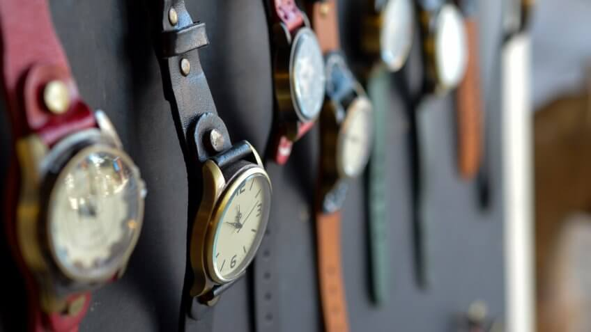 wristwatch collection
