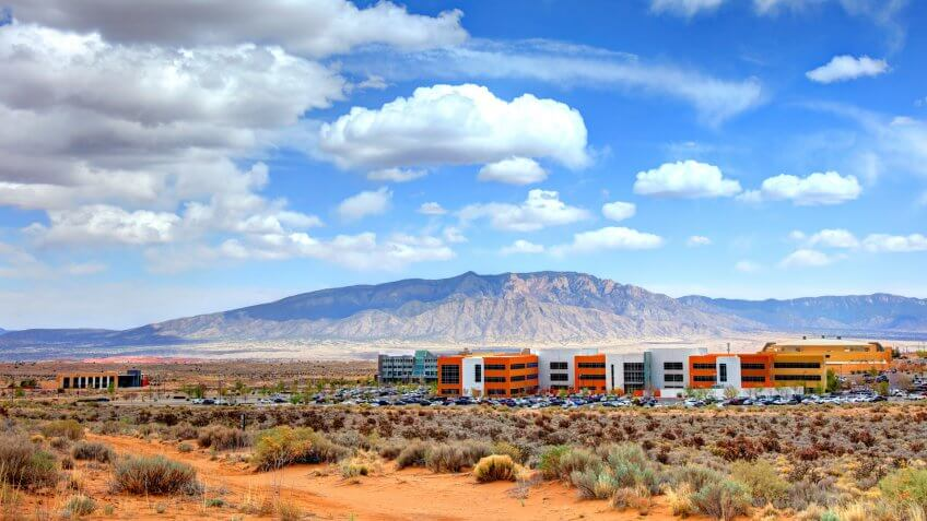 Rio Rancho is the largest city and economic hub of Sandoval County in the U.