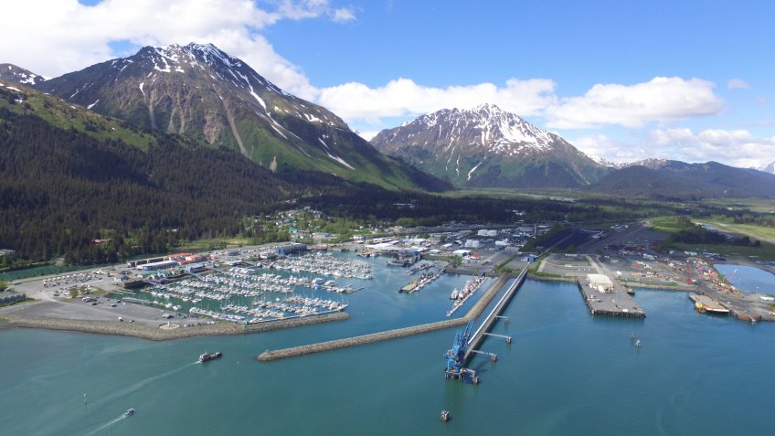Seward , Alaska , Small Boat Harbor - Image.
