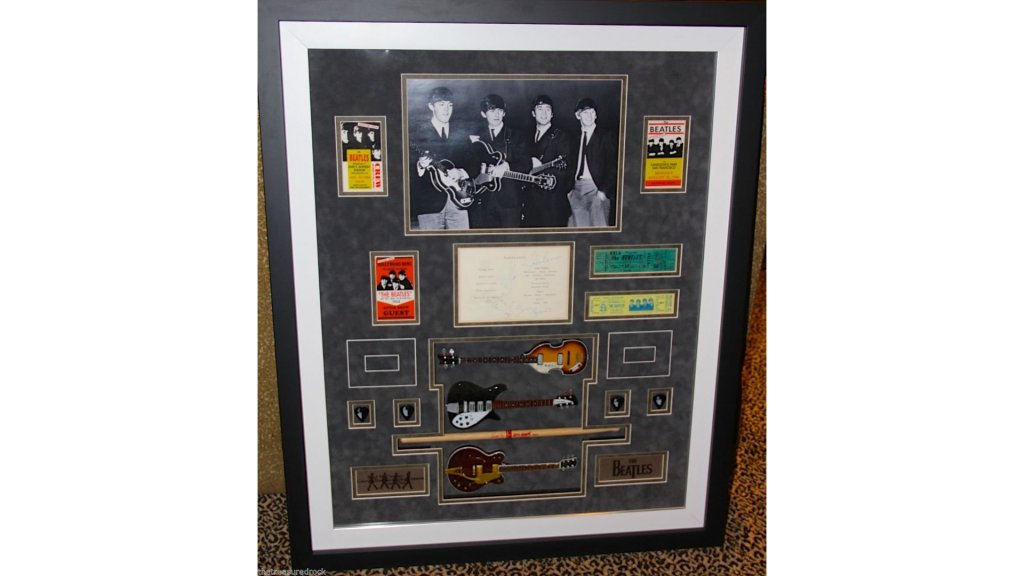 Beatles Memorabilia Including DNA Amazon