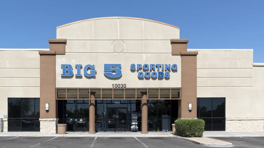 Phoenix, Arizona, USA - July 02, 2016: Big 5 Sporting Goods store in Phoenix.