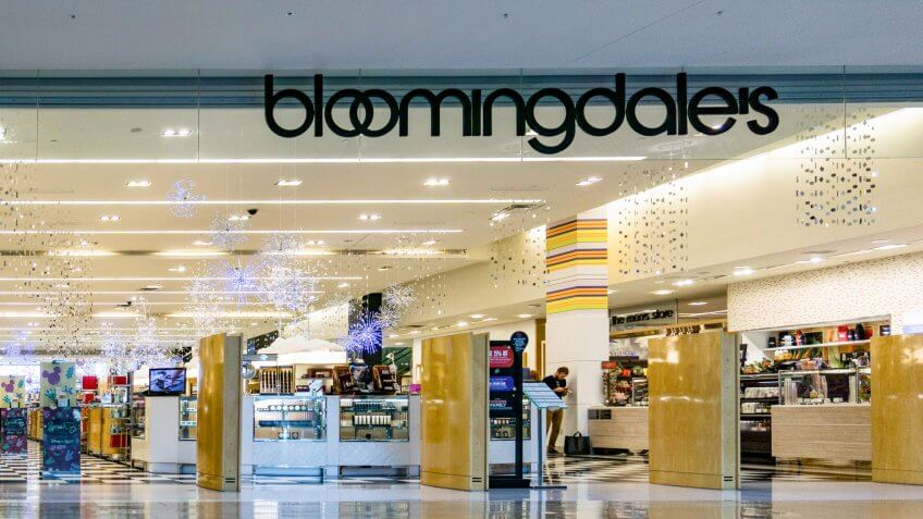 Bloomingdale's at Mall at Millenia, Orlando, Florida on December 3, 2017 - Image.