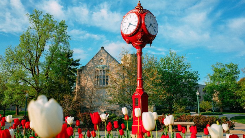 Bloomington, Indiana - June 7, 2019: Indiana University Bloomington in late Spring and early Summer - Image.