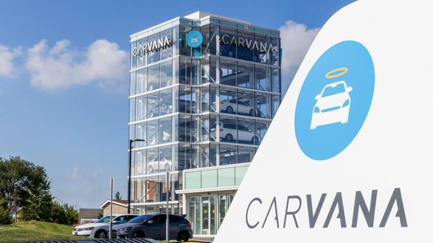 Carvana car dealership