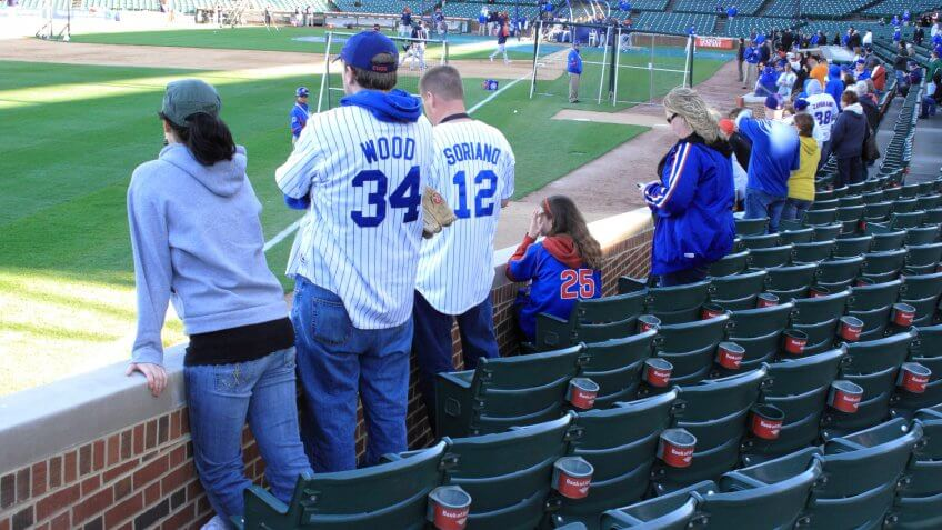 Chicago cubs fans