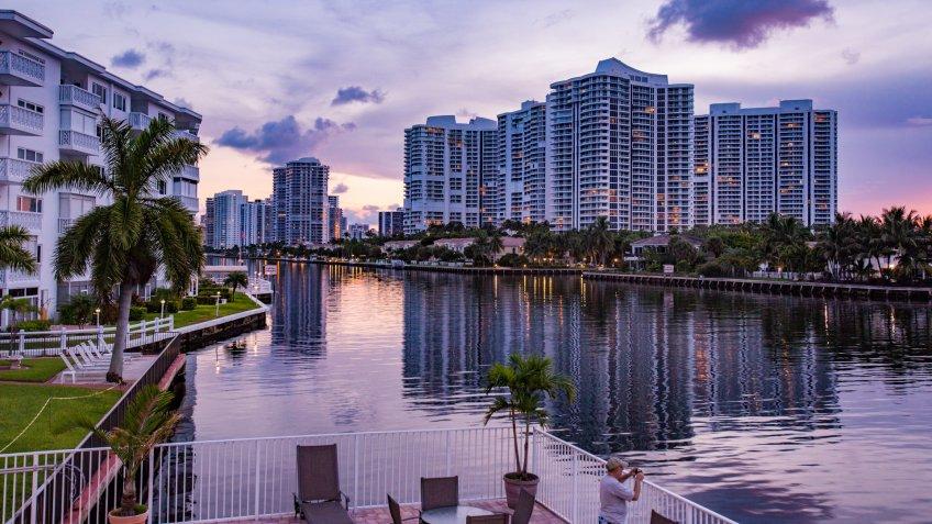 Sunset in Florida - Image.