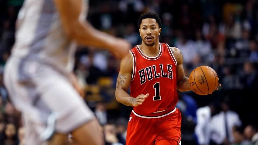 Derrick Rose, Chicago Bulls, basketball, sports, athlete