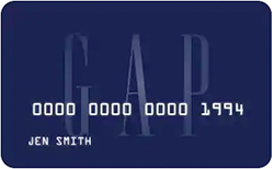 Gap Visa Credit Card