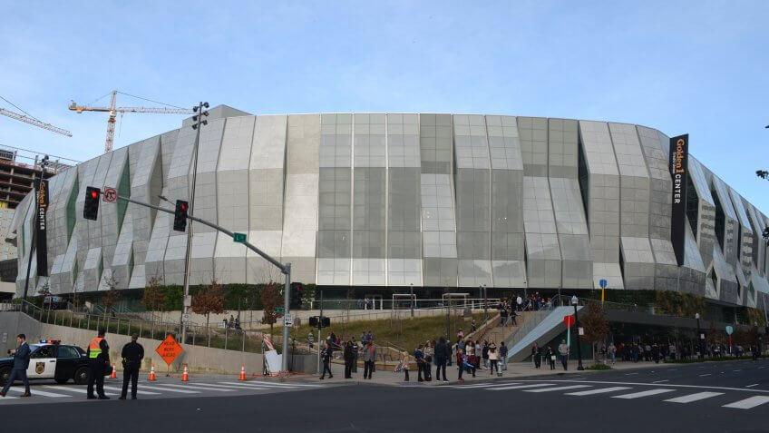 Golden1 Center in Sacramento.