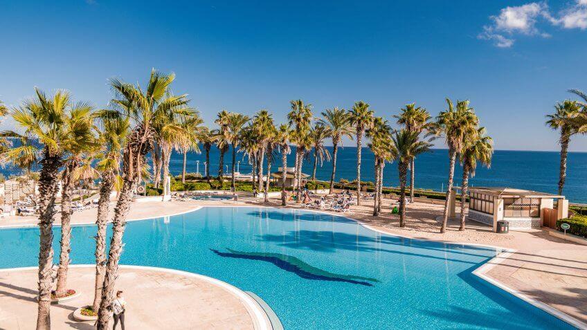 Hilton Hotel in Malta Italy