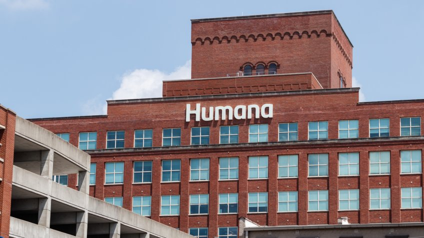 Louisville - Circa July 2019: Humana corporate headquarters.