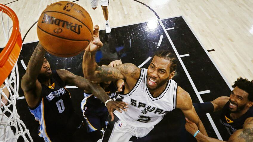 Kawhi Leonard, San Antonio Spurs, sports, basketball, athlete