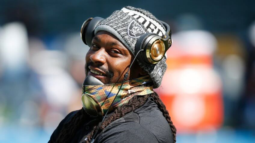 Marshawn Lynch, Oakland Raiders, football, sports, athlete