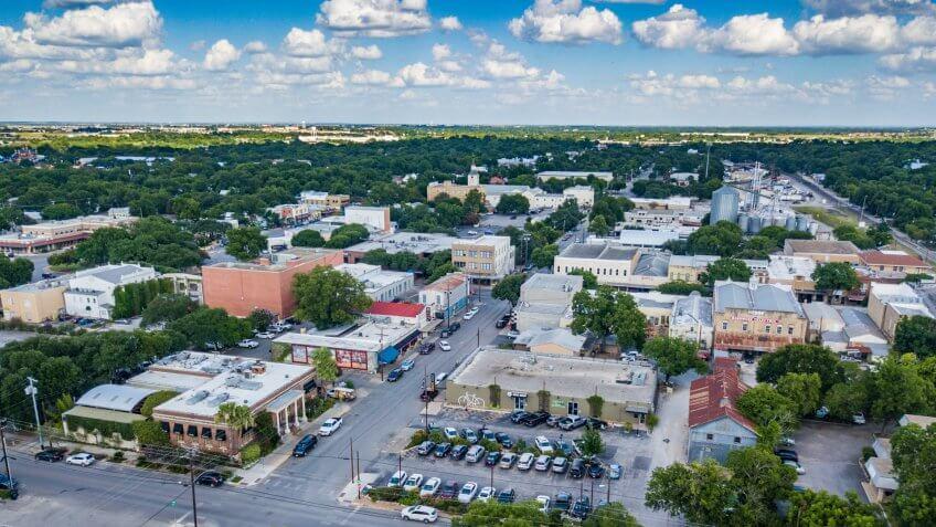 New Braunfels, Texas.