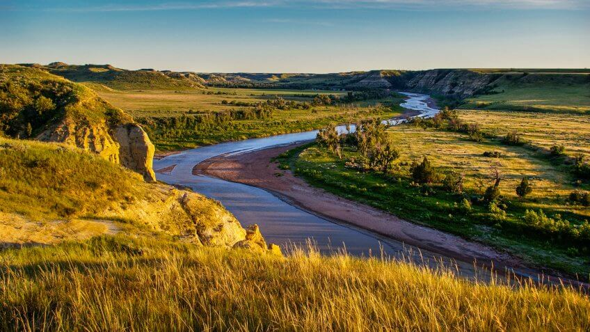 North Dakota Badlands.