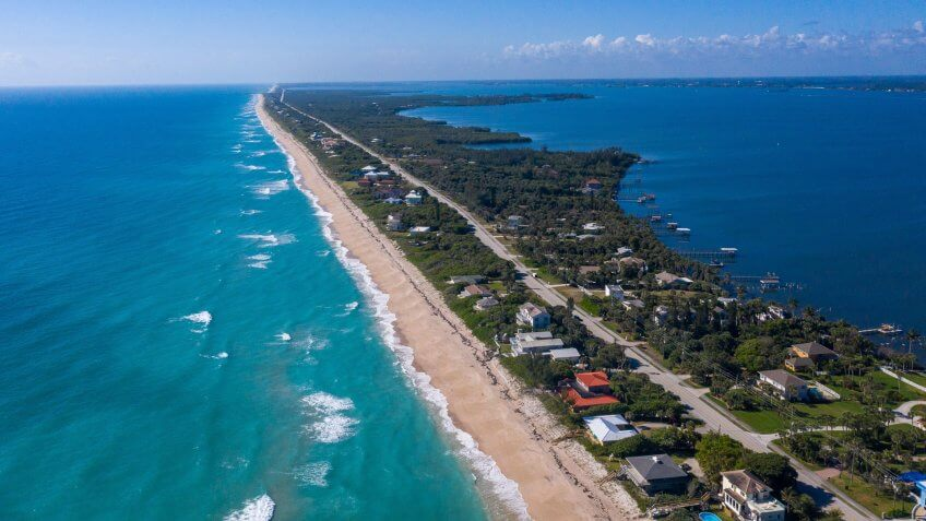 Sebastian Inlet in Florida
