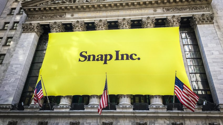 Snap inc New York Stock Exchange