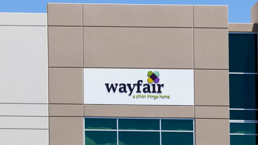 Las Vegas - Circa June 2019: Wayfair office.