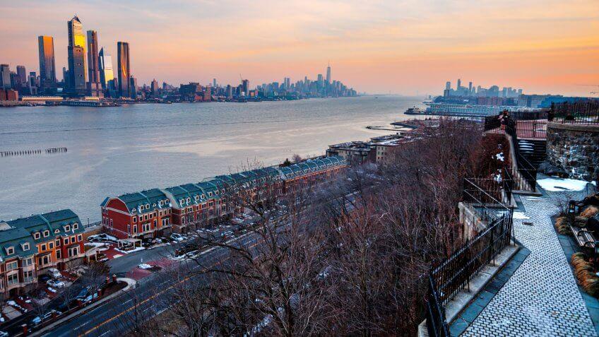 Manhattan view, New York City, USA.