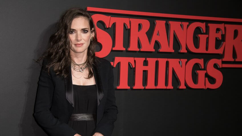 Winona Ryder salary Stranger Things