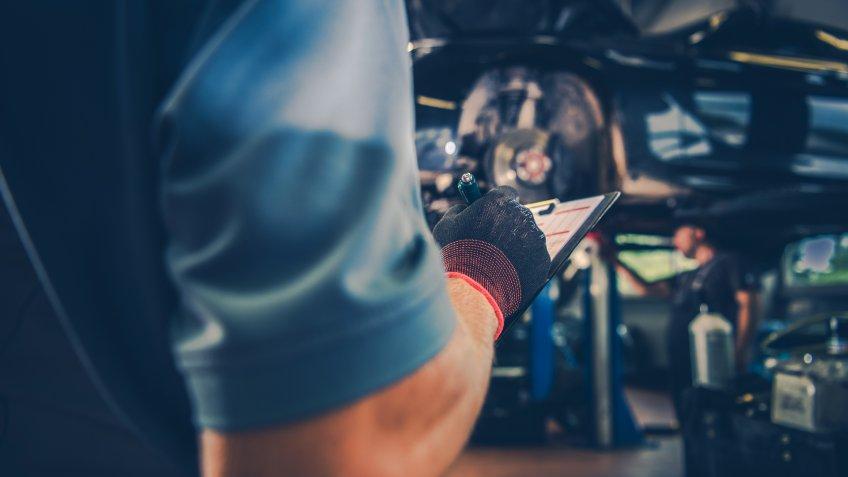 Vehicle Maintenance Check List.