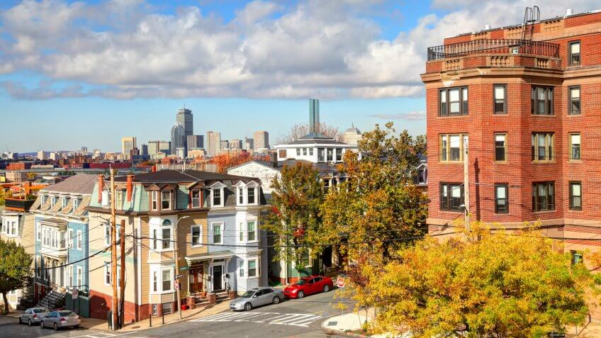 South Boston also known as southie is a densely populated neighborhood of Boston known for narrow three deckers, rowhouses and strong Irish Catholic traditions.