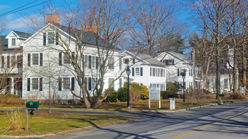 Bedford Road Historic District, Armonk, New York