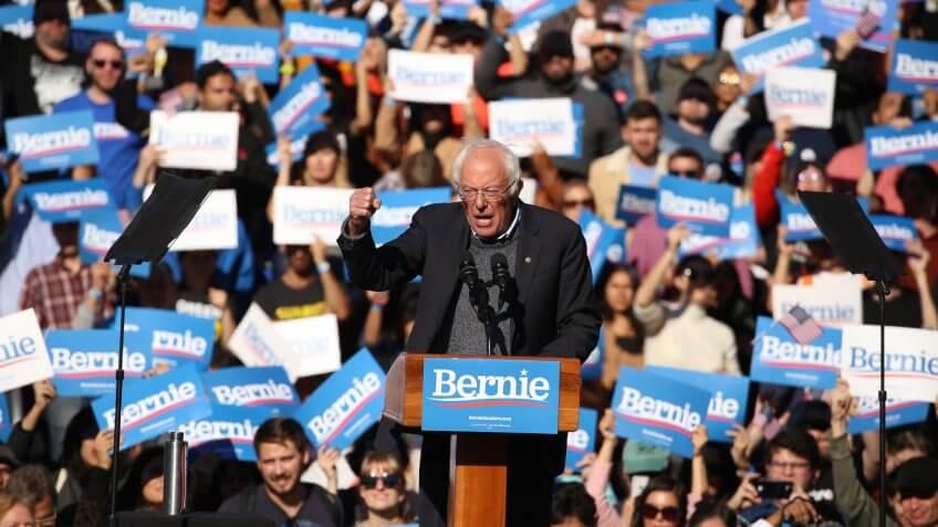 Bernie Sanders Democratic Presidential candidate