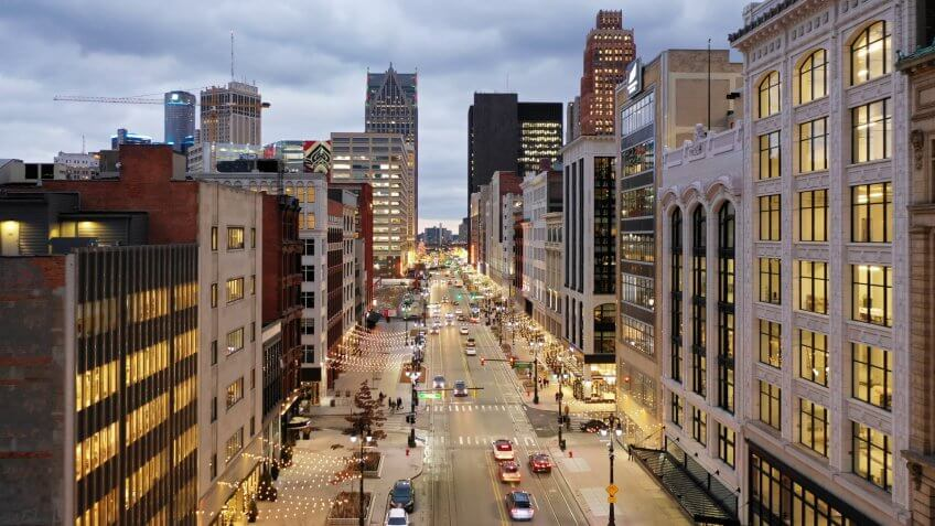 Detroit Woodward Ave.