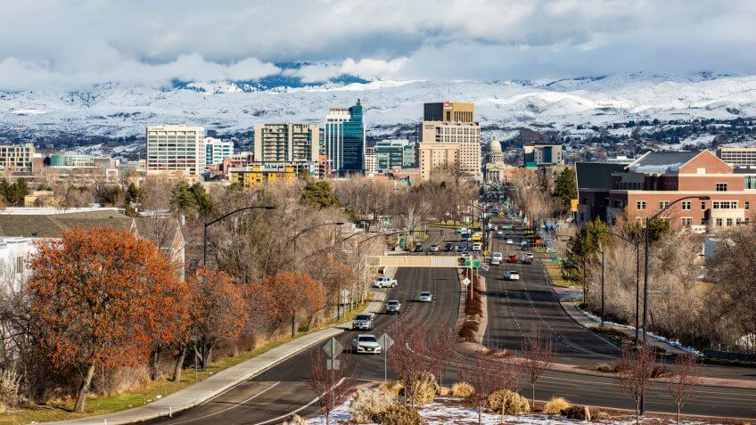 View of Downtown Boise.