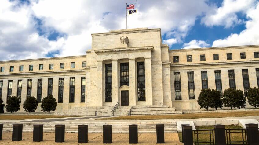 Federal Reserve building in washington DC