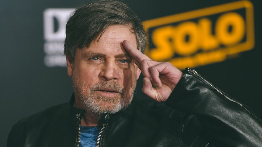 Mark Hamill Solo A Star Wars Story