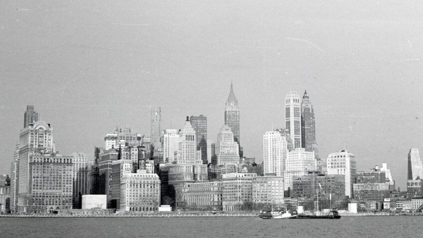 New York City, NYS, USA, 1950.