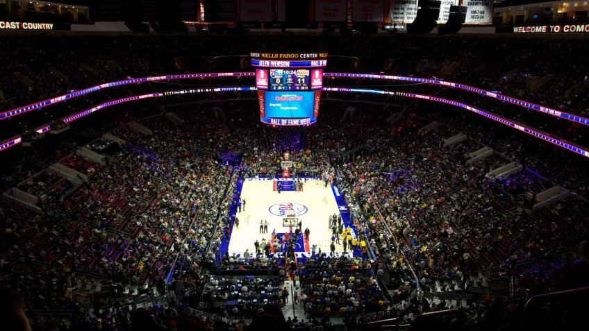 Philadelphia 76ers Wells Fargo Center