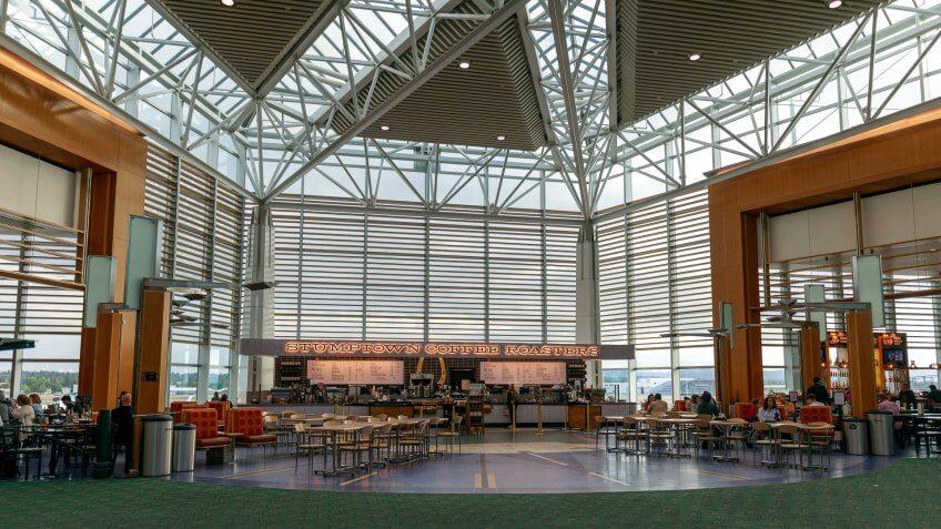 Portland Airport USG Ceilings Plus