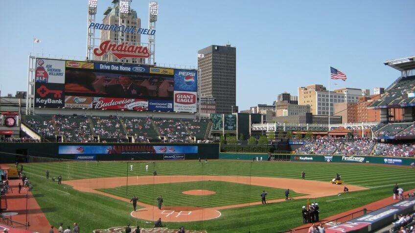 Progressive Field Cleveland Indians