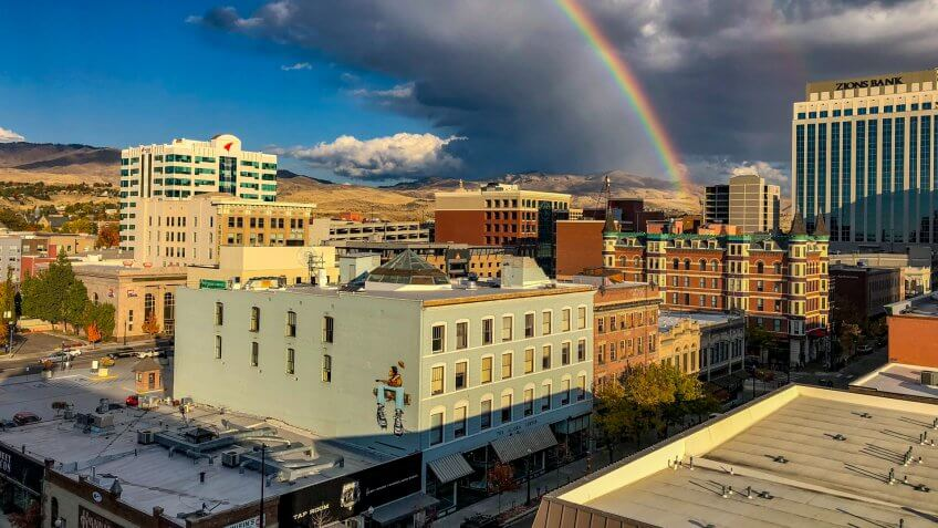 Downtown Boise Idaho.