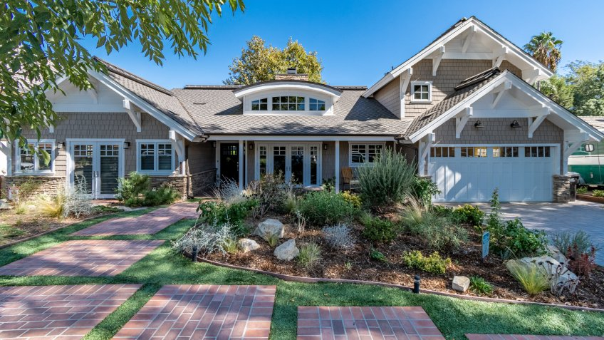 Rolling Hills, California / USA - October 2nd, 2019: Interior photos of a Rolling Hills estate, recently listed for sale.